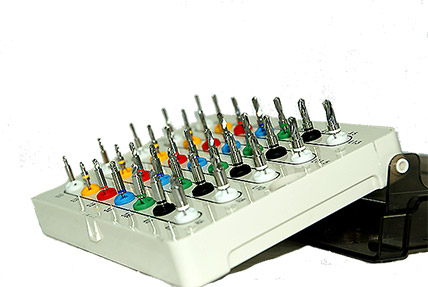 Dental Drills With Stoppers Kit